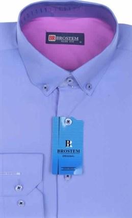 Мужская рубашка BROSTEM 3945VS30 Z-pr приталенная - фото 12728