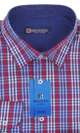 Мужская рубашка большого размера BROSTEM K6-260-G - фото 12745
