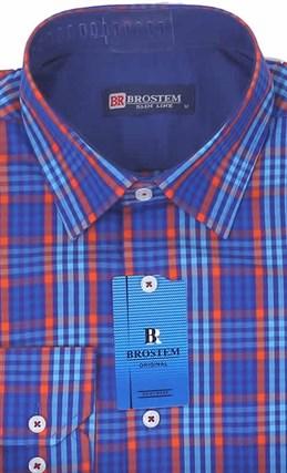 Мужская рубашка большого размера BROSTEM K6-271-G - фото 12752