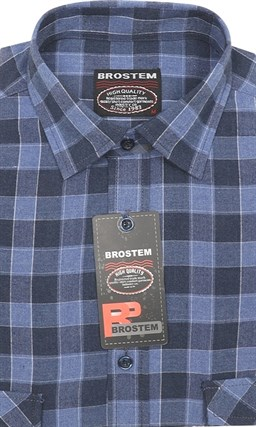 Фланелевая р.М рубашка шерсть/хлопок Brostem KA16009 - фото 12767