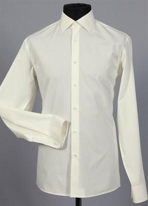 Приталенная рубашка хлопок 100 % VESTER 70714W-02н шампань - фото 12829