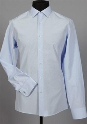 Рубашка мужская VESTER 70714S-10-18 приталенная - фото 13093