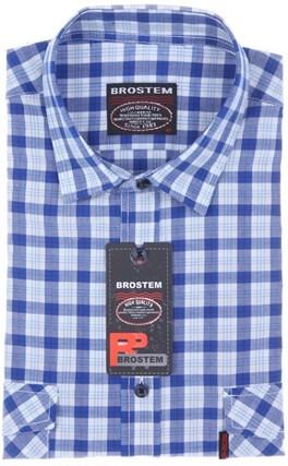 Рубашка мужская хлопок SH841s Brostem - фото 13144