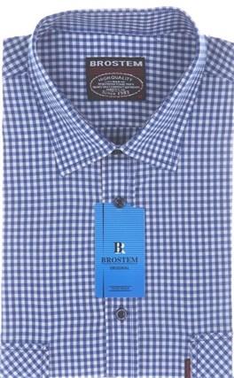 Рубашка мужская хлопок SH690s Brostem - фото 13146