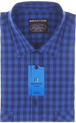 Рубашка мужская хлопок SH680s-H Brostem - фото 13150
