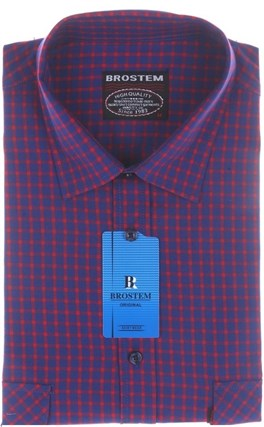 Рубашка мужская хлопок SH712s Brostem - фото 13152