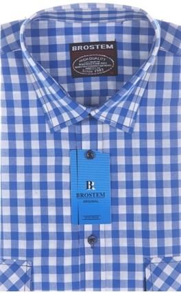Рубашка мужская хлопок SH681s Brostem - фото 13155