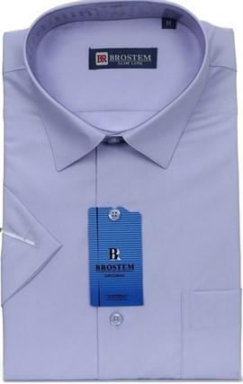 Рубашка мужская 4708As-pp Brostem полуприталенная - фото 13170