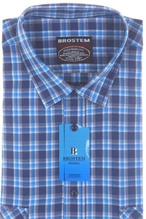 Рубашка мужская хлопок SH662s Brostem - фото 13177