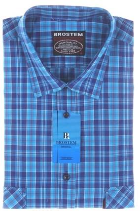 Рубашка мужская хлопок 100% SH660-1s Brostem - фото 13180