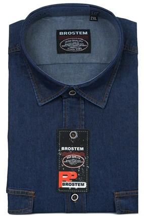 Мужская рубашка джинсовая BROSTEM LAN-1-j-Bros - фото 13186