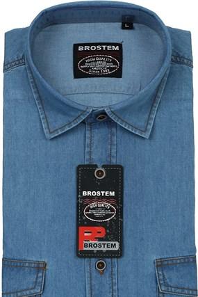 Мужская рубашка джинсовая BROSTEM LAN-2-j-Bros - фото 13190