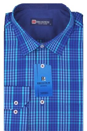 Мужская рубашка полуприталенная BROSTEM K6-273-pp-Bros - фото 13257