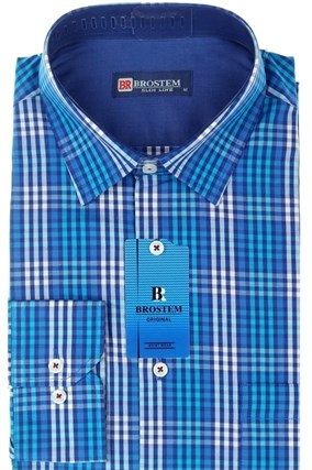 Мужская рубашка полуприталенная BROSTEM K6-262-pp-Bros - фото 13259