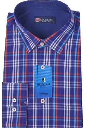 Мужская рубашка полуприталенная BROSTEM K6-267-pp-Bros - фото 13263