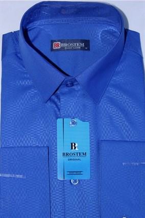 Мужская рубашка полуприталенная BROSTEM 4730-10-pp-Bros - фото 13266