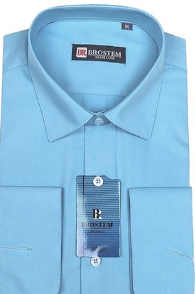 Мужская рубашка полуприталенная BROSTEM 4731-10-pp-Bros - фото 13268