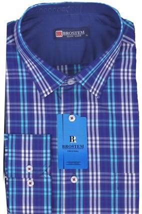 Мужская рубашка полуприталенная BROSTEM K6-268-pp-Bros - фото 13280