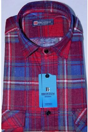 Фланелевая рубашка F104 - фото 13295