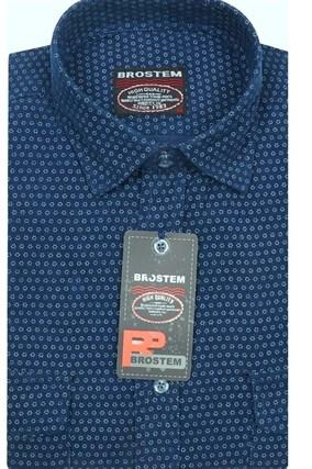 Вельветовая мужская рубашка хлопок полуприталенная Brostem  VT5 - фото 13314