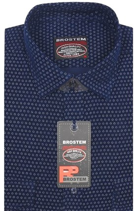 Вельветовая мужская рубашка хлопок полуприталенная Brostem  VT8 - фото 13320