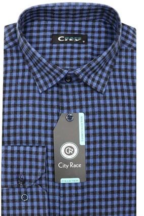 Фланель приталенная рубашка кашемир Brostem City Race KAC15028F-pr-Brostem - фото 13340