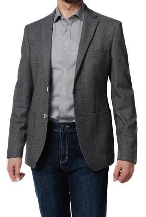 Пиджак мужской Baelish(N2179) серый в лапку - фото 13606
