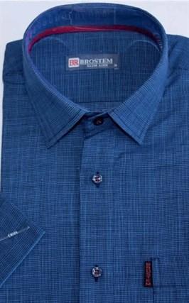 Рубашка лен/хлопок полуприталенная 8SB23-1s-pp - фото 13674