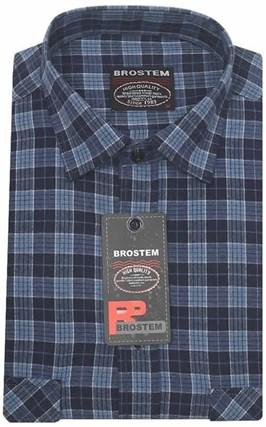 Большая фланелевая рубашка BROSTEM KA2431Dg - фото 13798