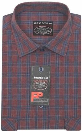 Большая фланелевая рубашка BROSTEM KA2470Ag - фото 13806