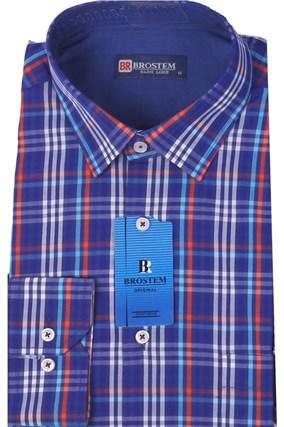 Большая мужская рубашка BROSTEM K6-267g - фото 13809