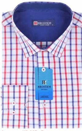 Большая мужская рубашка BROSTEM K6-305g - фото 13812