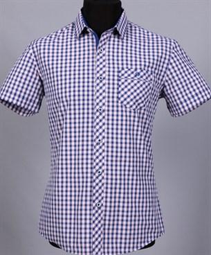 100% хлопок сорочка приталенная VESTER 10814Е-03 - фото 13851