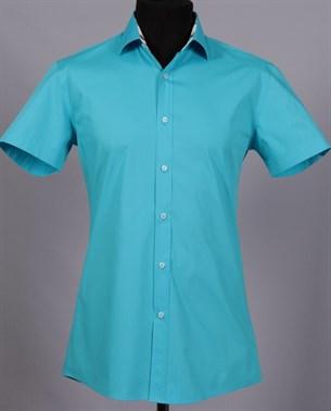 Рубашка приталенная VESTER 86018S-02 - фото 13873