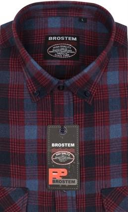 Фланель р.М рубашка шерсть/хлопок Brostem KA16007A - фото 13952