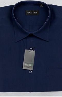 Офисная мужская рубашка большого размера CVC26g  BROSTEM - фото 14278