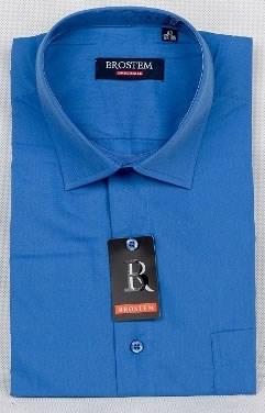 синяя рубашка большого размера