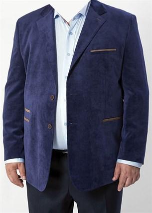 Большой вельветовый пиджак П-1323 Benafetto - фото 14312