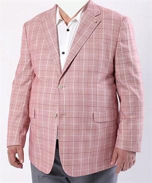 Большой розовый пиджак П-23380 Benafetto - фото 14325