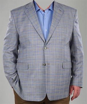 Большой сиреневый пиджак П-23433 Benafetto - фото 14332