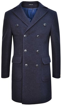 Демисезонное двубортное пальто ЛААКС SF - фото 14395