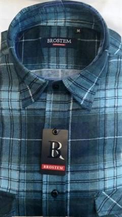 Фланелевая рубашка BROSTEM FBB3 - фото 14417