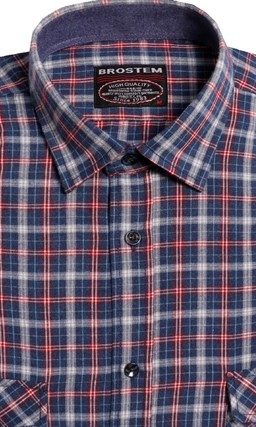 Большая фланелевая рубашка BROSTEM 8LG42+2g (KA15010g) - фото 14419