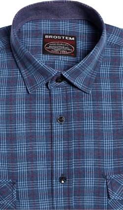 Большая фланелевая рубашка BROSTEM 8LG42+1g - фото 14423