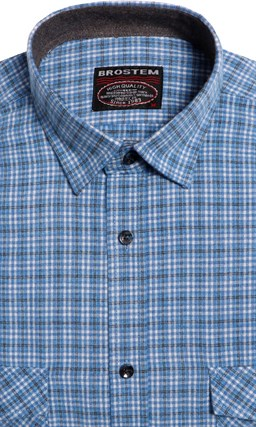 Большая фланелевая рубашка BROSTEM 8LG42+4g - фото 14432