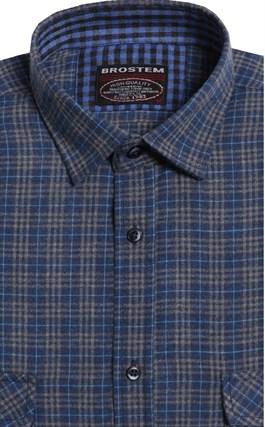 Большая фланелевая рубашка BROSTEM 8LG49+4g - фото 14441