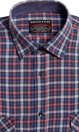 Фланелевая рубашка шерсть/хлопок Brostem 8LBR42+2 (КА15010) - фото 14444