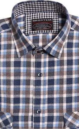 Теплая р.М рубашка шерсть/хлопок Brostem 8LBR49+2 - фото 14451