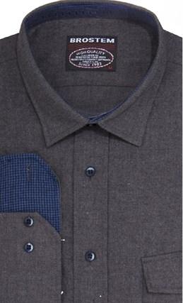 Фланелевая рубашка шерсть/хлопок Brostem 8LBR50+3 - фото 14460