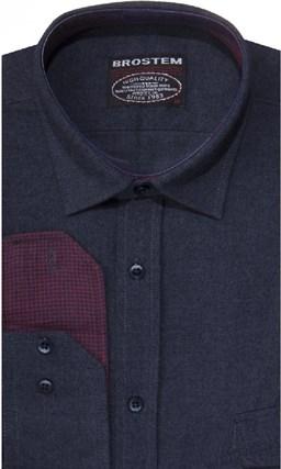 Фланелевая р.М рубашка шерсть/хлопок Brostem 8LBR50+4 - фото 14462
